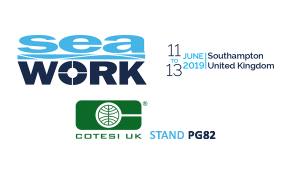 Cotesi will attend at SEAWORK 2019